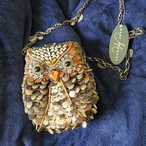 MARY FRANCES NOVELTY COLLECTION WHAT A HOOT BAG